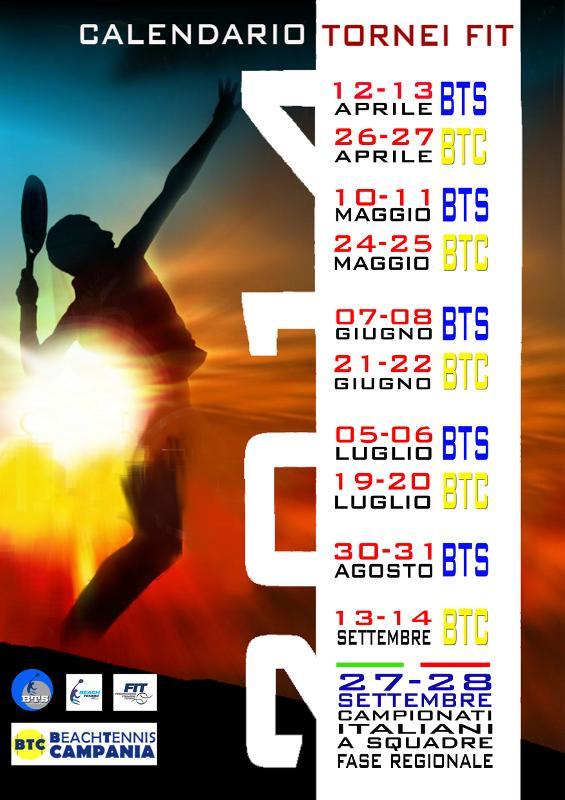 Fit Calendario Tornei.Calendario Tornei Fit 2014 Beach Tennis Campania