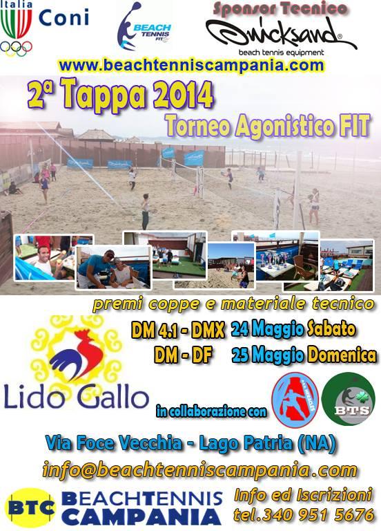 Fit Calendario Tornei.2º Torneo Fit 2014 Per La Beach Tennis Campania Beach